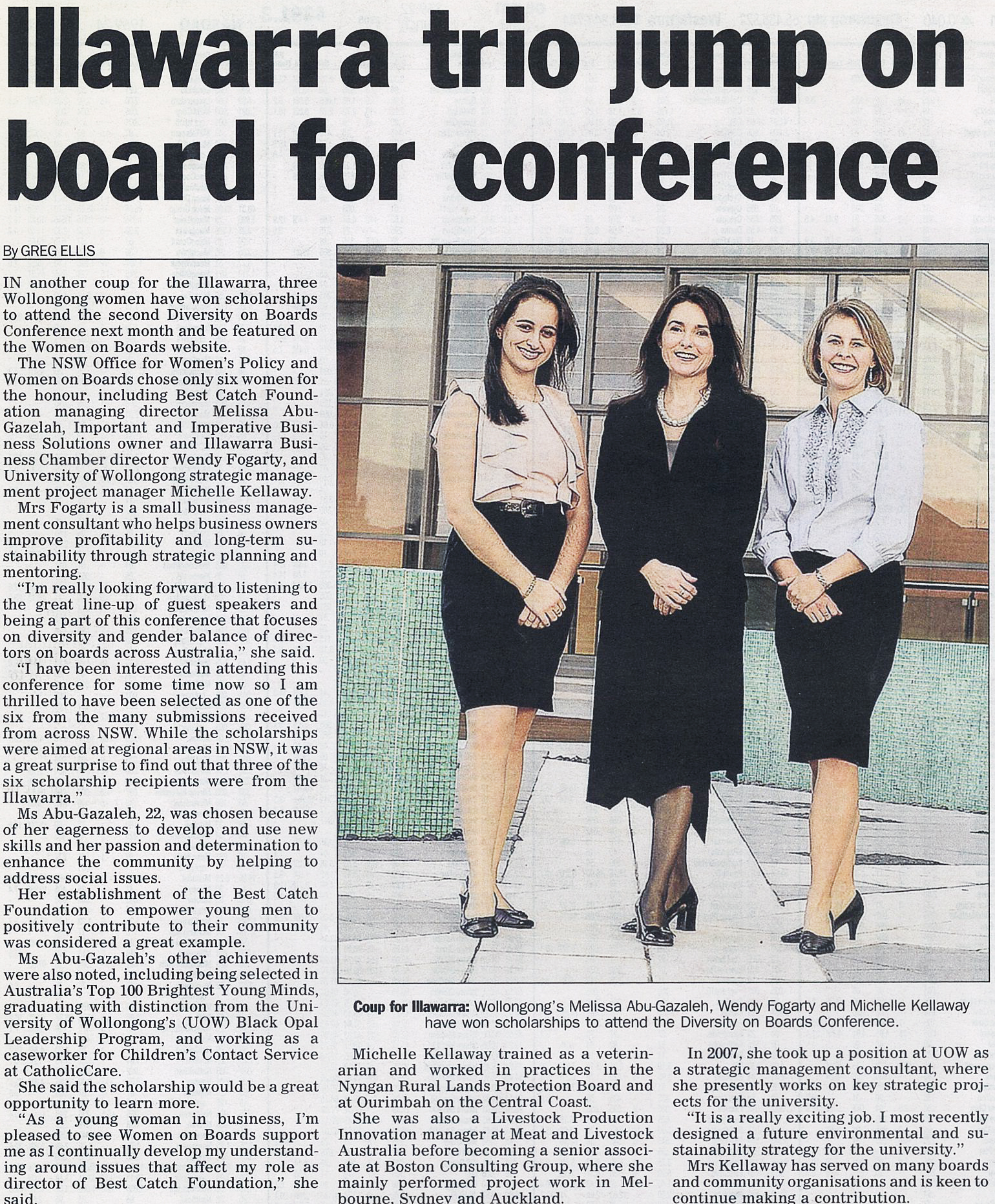 Illawarra trio jump on board for conference.jpg
