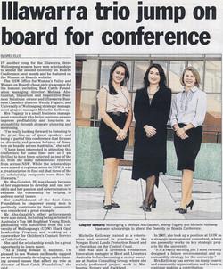 Illawarra trio jump on board for conference.jpg