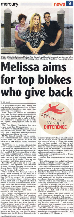 Melissa Aims For Top Blokes Who Give Back.jpg