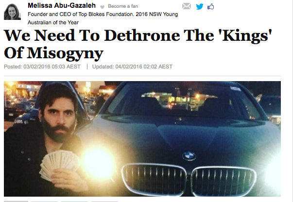 Huffington Post Melissa Abu-Gazaleh Article