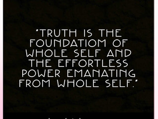 Truth Is the Foundation