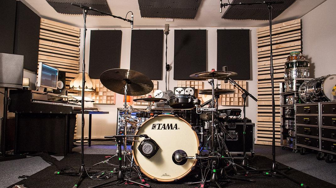 Frederic Michel, Schlagzeuger, Drummer, Tonstudio, Mannheim