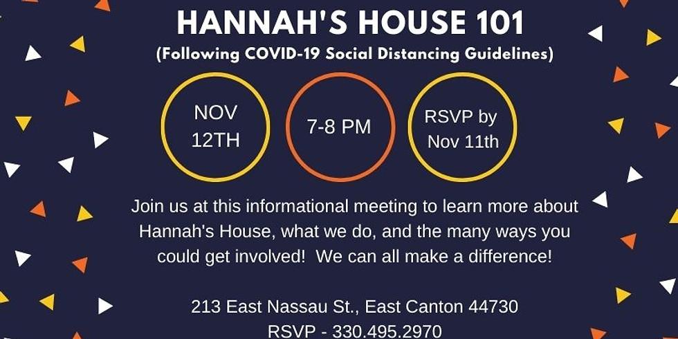 November 101 Informational Meeting