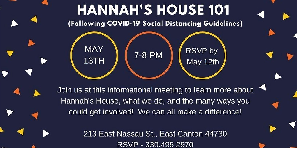 May 101 Informational Meeting
