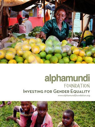 Investing for Gender Equality Report
