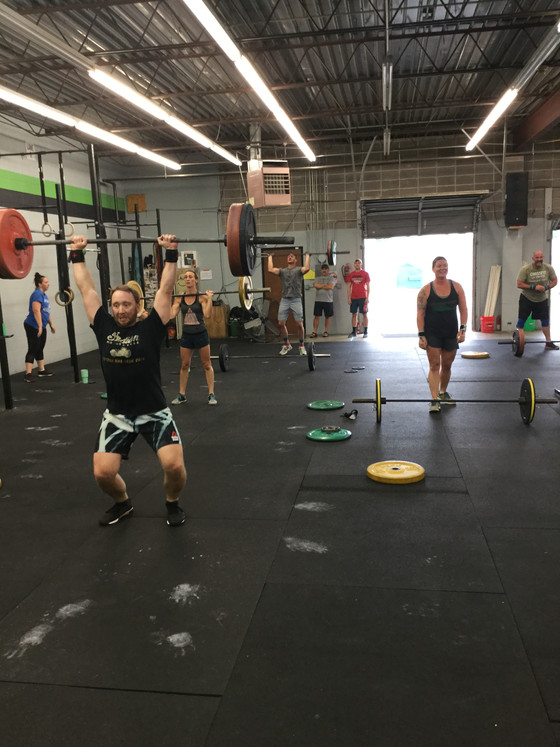 Wod for 8.23.2018