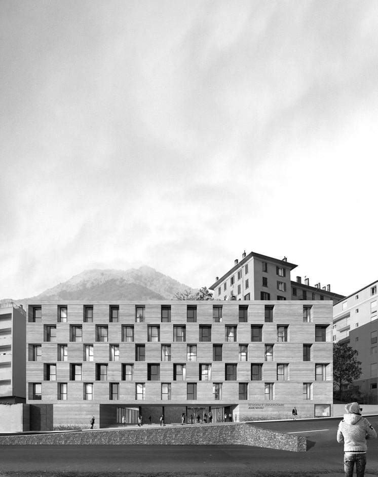 CROUSS CORTE CGZ architecture - architectes Bastia