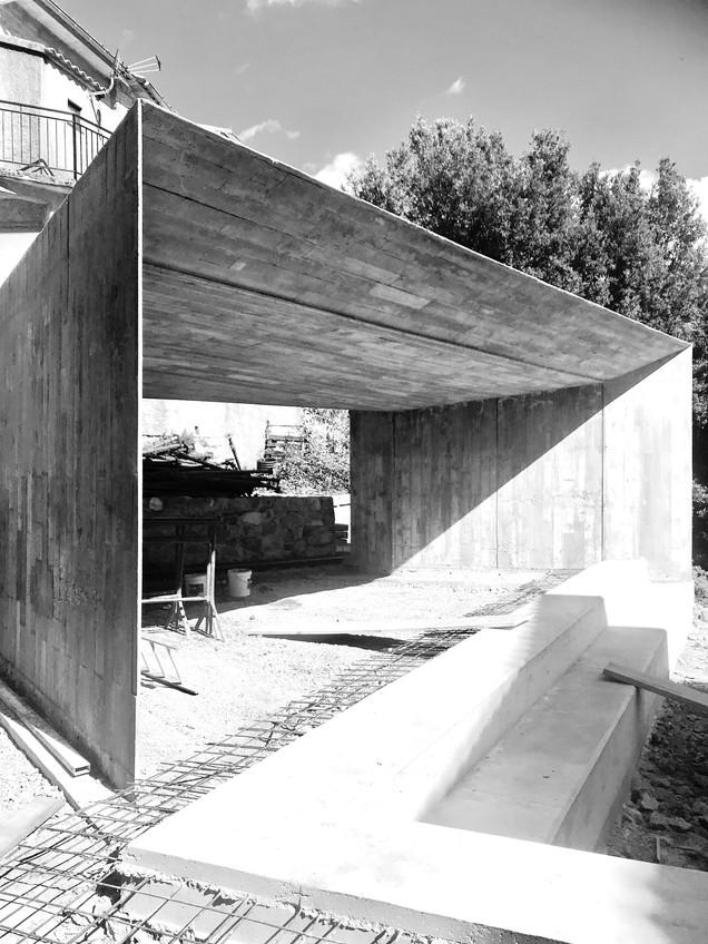 ESAPACE SCENIQUE TOLLA CGZ architecture - architectes Bastia