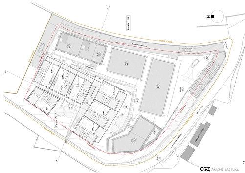 plan RDC- CGZ architecture - architectes