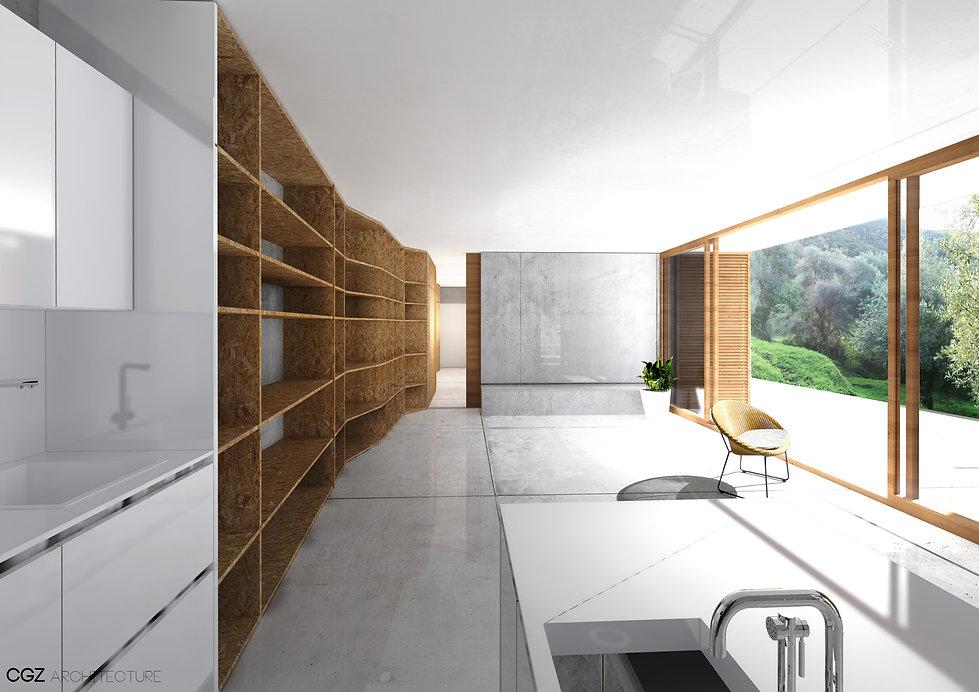Maison Calcatoggio CGZ architecture - ar