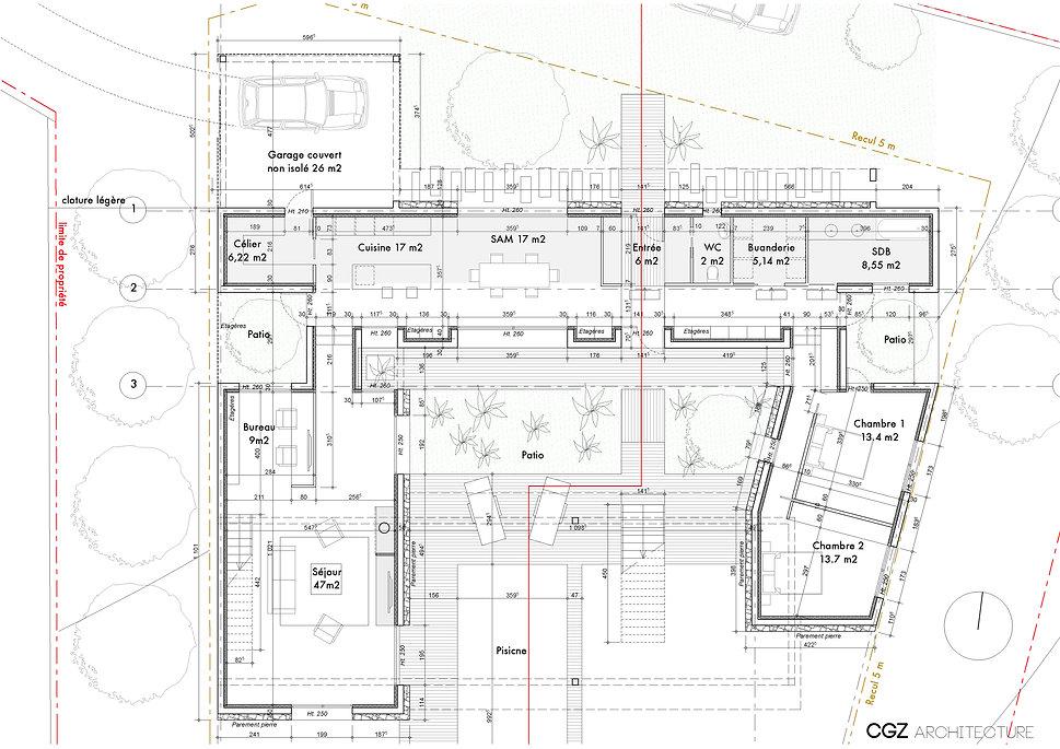 CGZ architecture - architectes Bastia