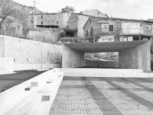 ESPACE SCENIQUE TOLLA CGZ architecture - architectes Bastia