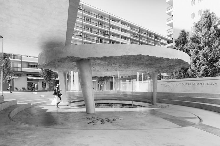 ANTIQUARIUM SAN GJUVAN CGZ architecture - architectes Bastia