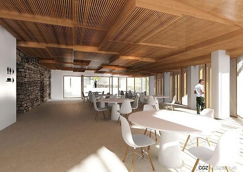 AJAC 2016 RéhabilitationCGZ architecture Atelier d'architecture composé de deux architectes Julien Casalta et Pascale Gandoin de Zerbi, pour former CGZ architecture, à Bastia.