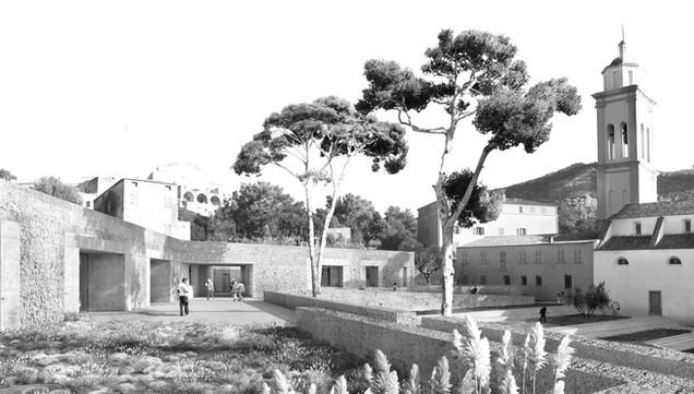 ESPACE CULTUREL CORBARA CGZ architecture - architectes Bastia