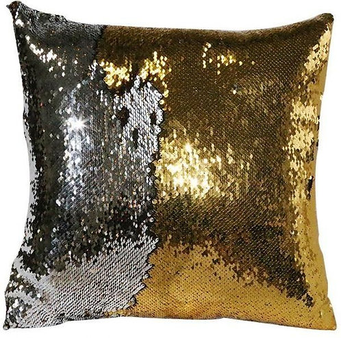 Square Sequins Cushion - 15in