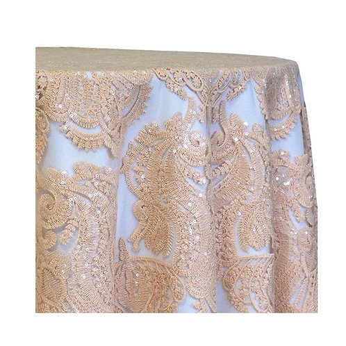 Venetian Lace Tablecloth - 132in