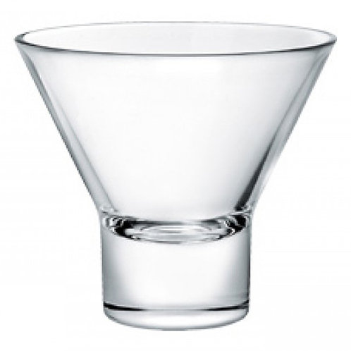 Stemless Martini Glass - 3.5in