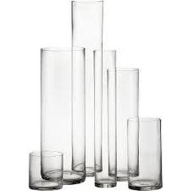 Cylinder Vase - 6 to 24in