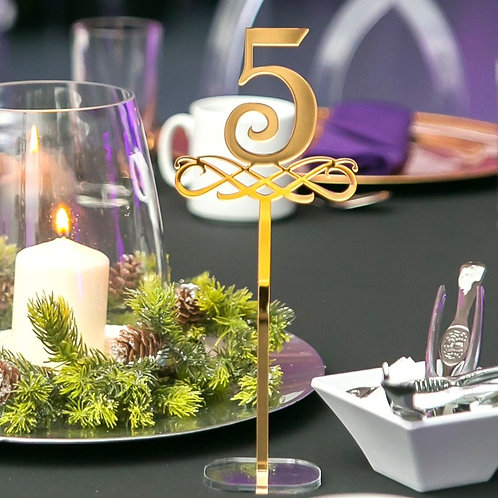 Table Numbers - 1ft