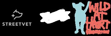 StreetVet and Wild at Heart Foundation logo