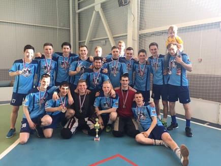 Серебро чемпионата России по флорболу среди мужских команд