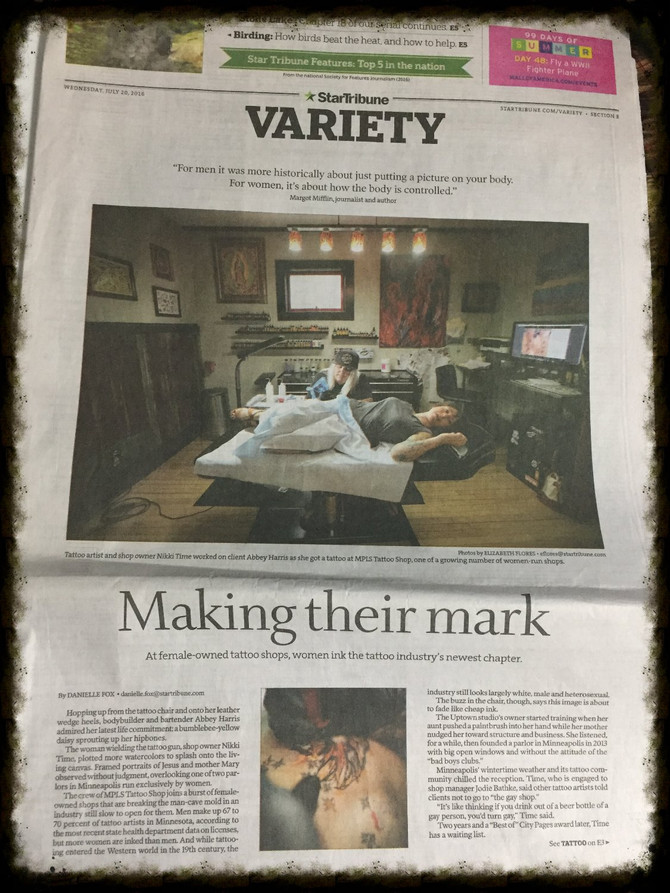 The Star Tribune interviewed us on what its like to be a female in a male dominated profession :) fe