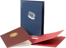 папки с фирменным логотипом
