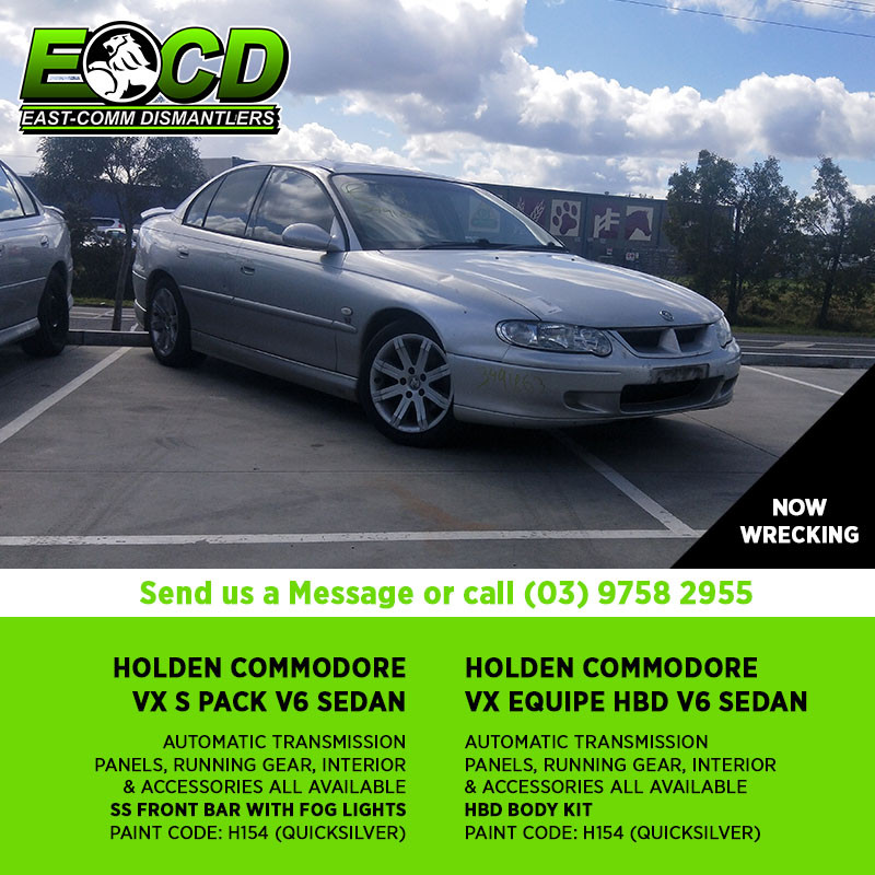 Holden Commodore Transmission Codes