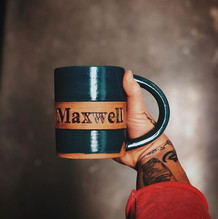 Sneak peek at one of the many personalized mugs on the way.. kind of obsessed with this ne