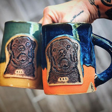 Packers colors and their puppy on a mug for the newlyweds💕. Thank you _wib.jpg