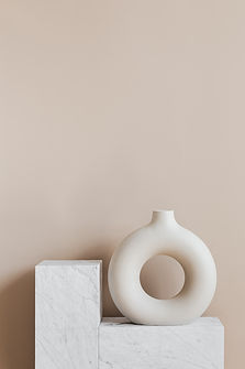 decorative-vase-of-ring-shape-on-marble-