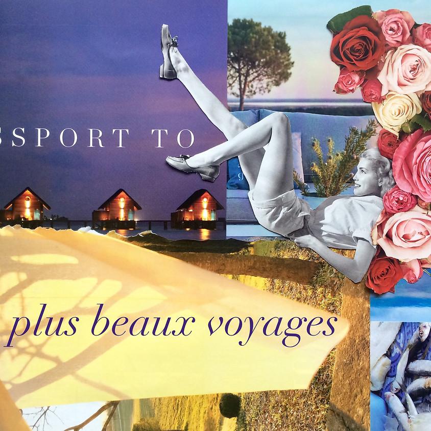 "Expression collage ""Nos plus beaux voyages"""