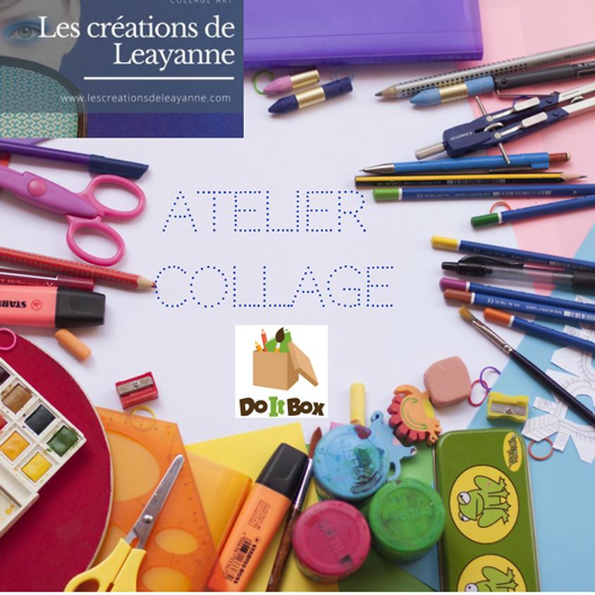 Atelier collage parents-enfants (5 à 8 ans) avec DoItBox