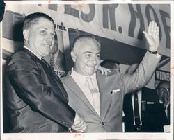 Joseph Glimco and James R. Hoffa