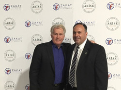Martin Sheen and James T. Glimco
