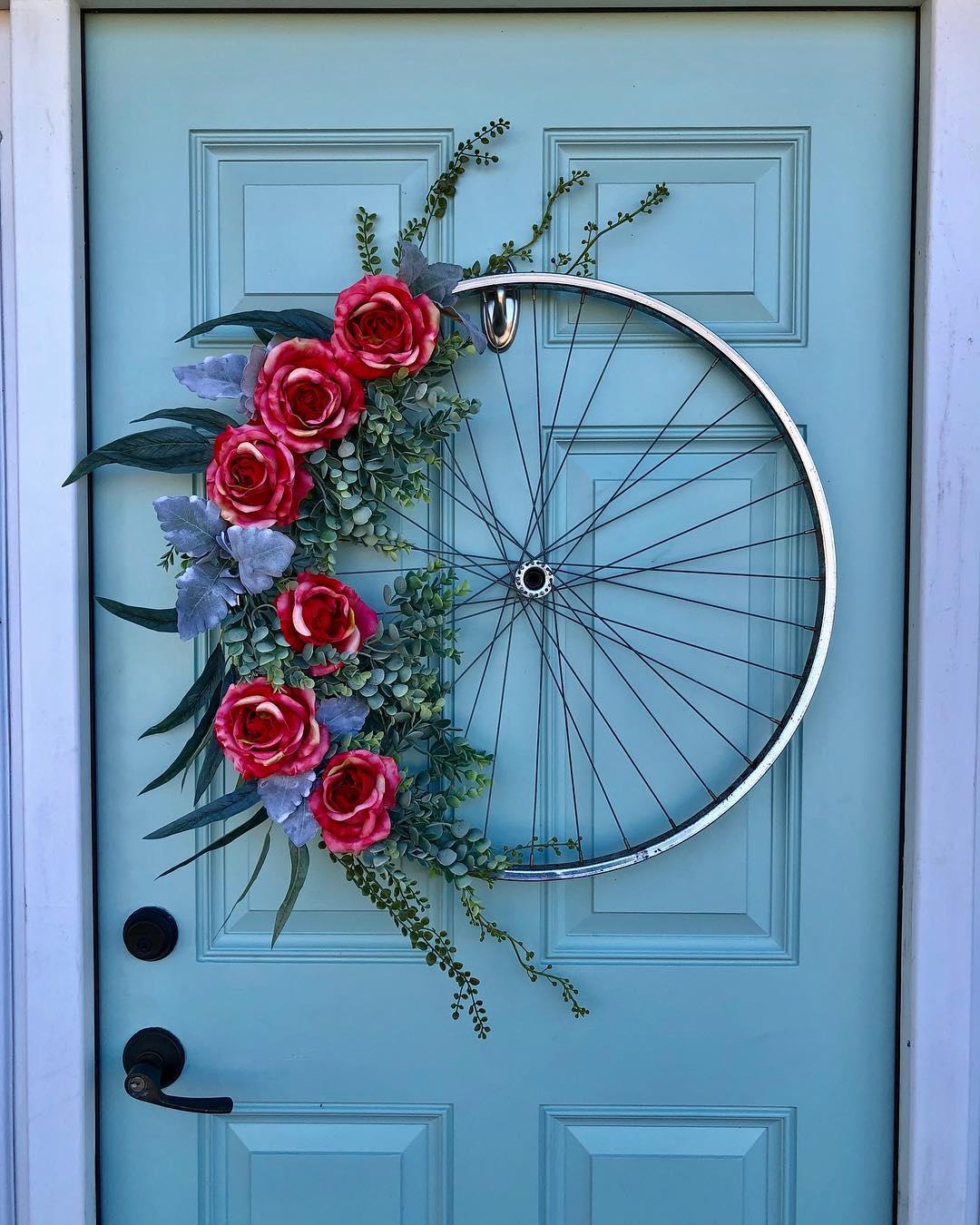 Bike Wreath