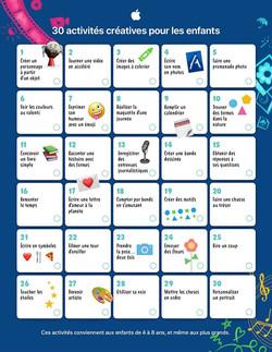 30 activités pour les enfants