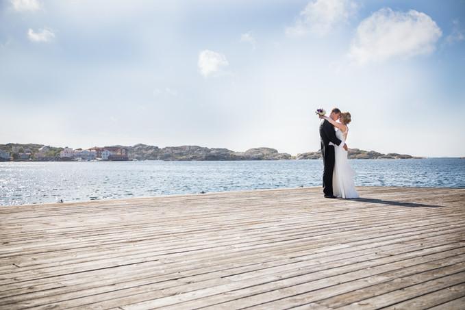 Bröllop gullmarsstrand