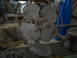 昭和初期の日立扇風機