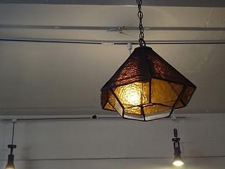 ステントグラス製ライト