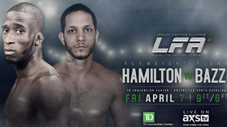 LFA 8— Hamilton vs. Bazzi Recap