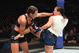 "Joanna ""Champion"" Vs.""The Karate Hottie"" Michelle Waterson Odds"
