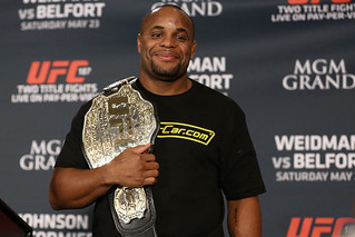 Daniel Cormier Vacates Light Heavyweight Title Prior to UFC 232