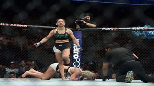 UFC 209— LFA's Calvillo Successful in UFC Debut