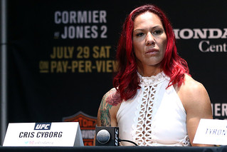 Are Cris Cyborg's UFC Days Coming to an End?