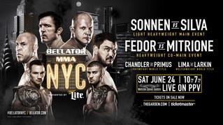 Freelance: Bellator NYC Odds— Sonnen vs. Silva Pick and More