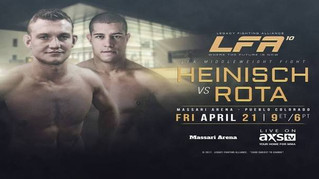 LFA 10— Heinisch Wows against Rota
