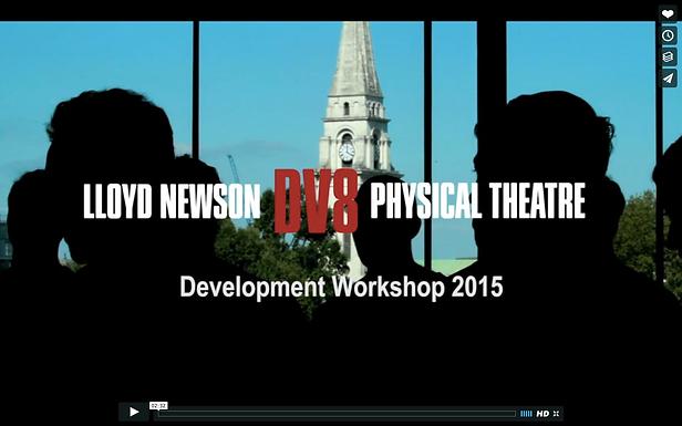 DV8 Physical Theatre - Development Workshop 2015