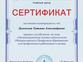 """""""Организационно-правовые основы деятельности Профсоюза"""""""